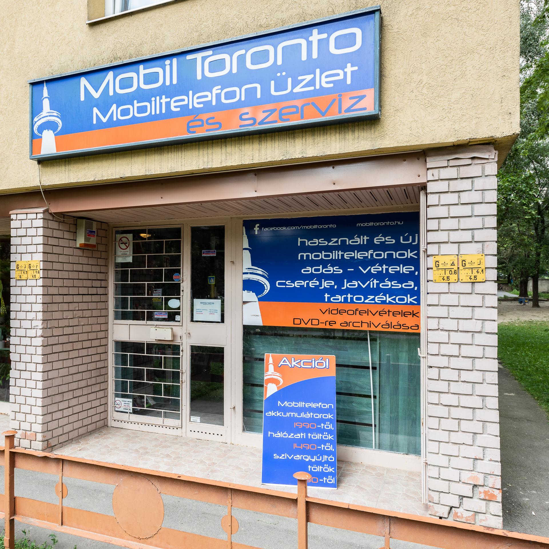 Mobil Toronto üzlet Szeged